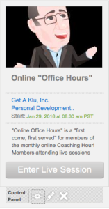 Group Coaching Online Office Hours Get A Klu