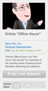 OOHs Online Office Hours Get A Klu