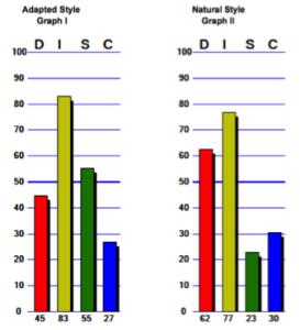 Behavioral Assessments DISC Graph